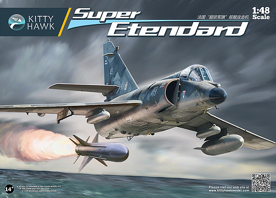 Kitty Hawk 1 48 Super Etendard KH80138