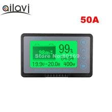 12-72 в 50 А тестер емкости свинцово-кислотной литиевой батареи TF03K дисплей напряжения тока кулометр счетчик