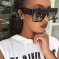 Nueva Tendencia de La Moda Señoras de Las Mujeres de Los Hombres Todas Correspondan Gafas de Sol de Diseñador de la Marca de Lujo de La Vendimia Rhinestone Personalidad gafas de Sol UV400