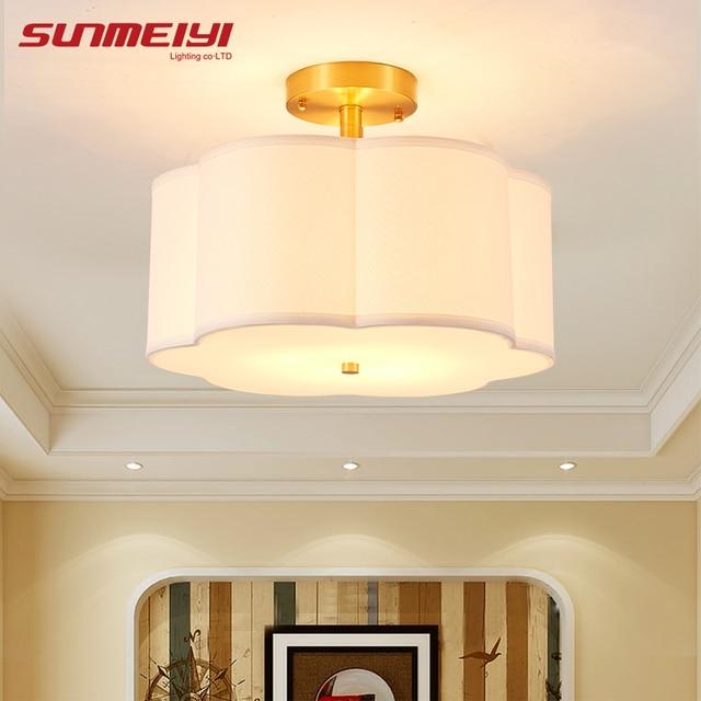 Modern Flower Shaped LED Ceiling Lights For Corridor Bedroom vintage E27 luminaire plafonnier led Light Fixture.jpg 640x640 5 Élégant Luminaire Plafonnier Led Kdh6
