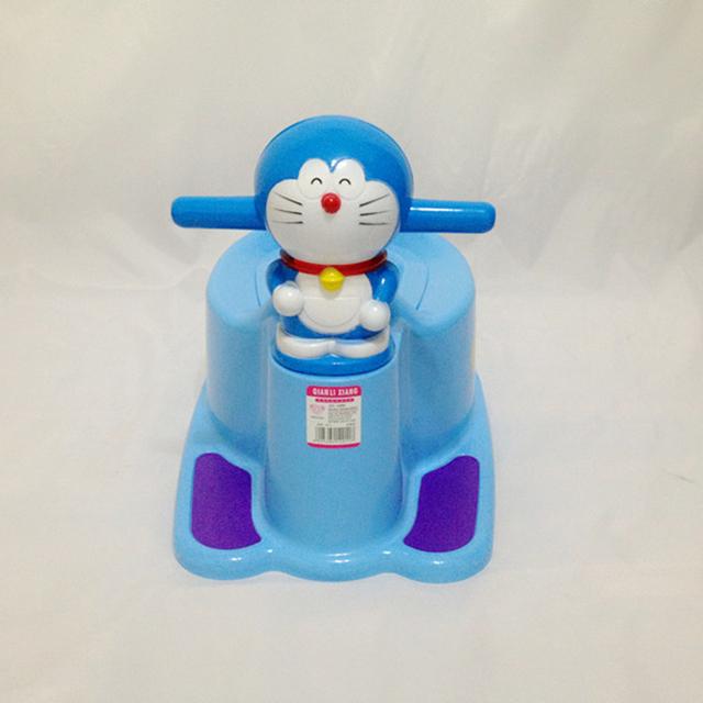 2017 Novo Estilo Cat Crianças Criança Bacio Bebé Assento Do Vaso Sanitário Para Mictórios crianças Da Menina do Menino Penico Portátil Cadeira Cadeira de Plástico Azul Rosa