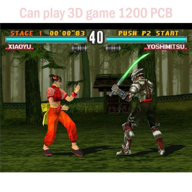 US $226 1 5% OFF|Can play 3D 1200 in 1 TITAN BOX games board /HDMI or VGA  3D game Jamma Multi Game Board diy MAME Revolutionary PCB board-in Coin
