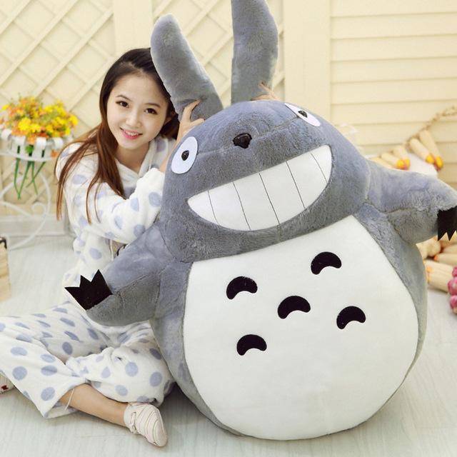 Anime 45 cm Totoro peluche de juguete muñeca linda Totoro Doll algodón envío gratis