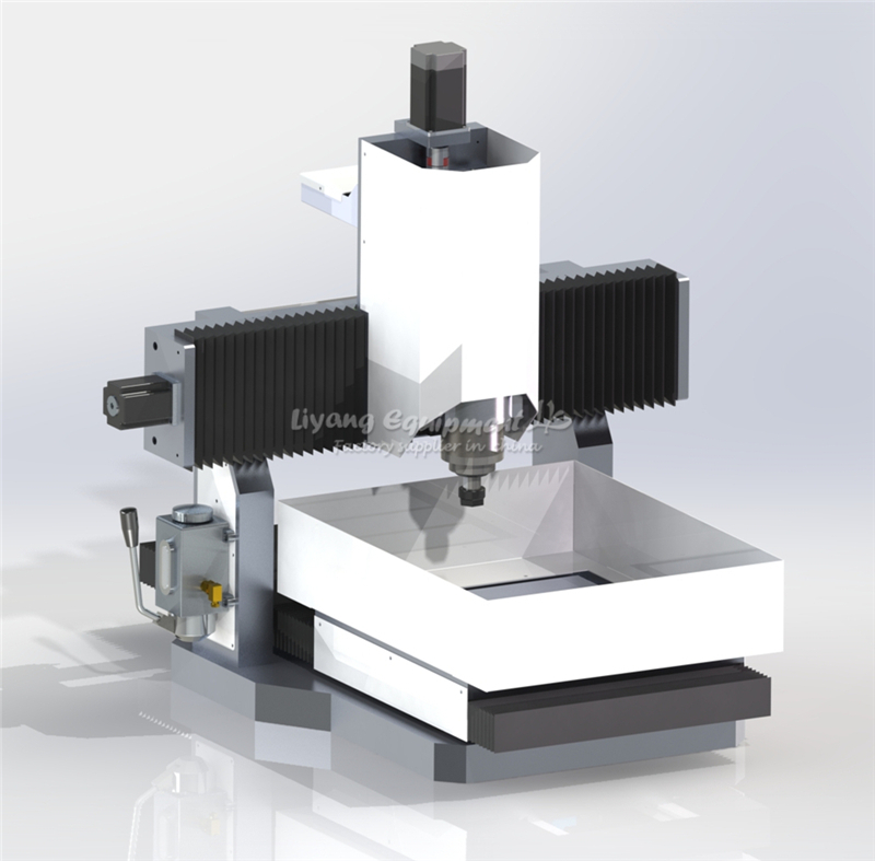 DIY Mini Cnc Milling Machine LY 4040 Full Aluminum PCB Engraving For Metal 3 / 4 Axis Wood Router 1.5KW 2.2KW 3.5KW