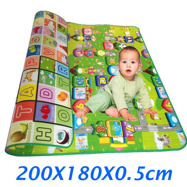 Infant Kids Crawling Mats Children Play Rugs Carpet Square Baby Toys Mat For