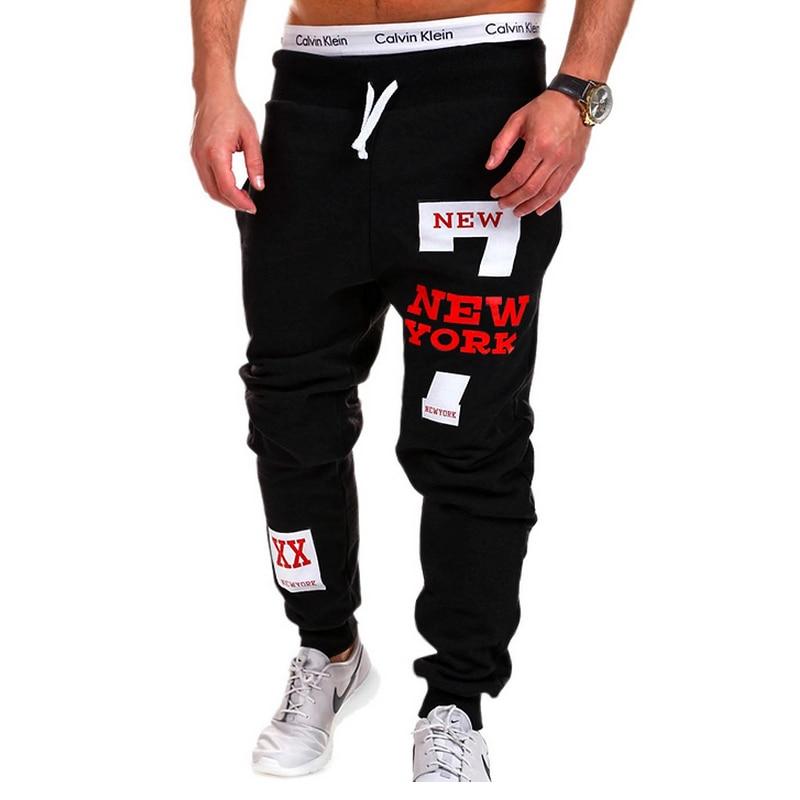 Mens Joggers 2018 Marca Maschio Pantaloni Uomo Pantaloni Casual Solid - Abbigliamento da uomo