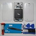 S4 tampa da caixa completa para samsung galaxy s iv i9505 frente lcd bezel & Quadro oriente & Caso & Screen Vidro Traseiro & tools & UV cola
