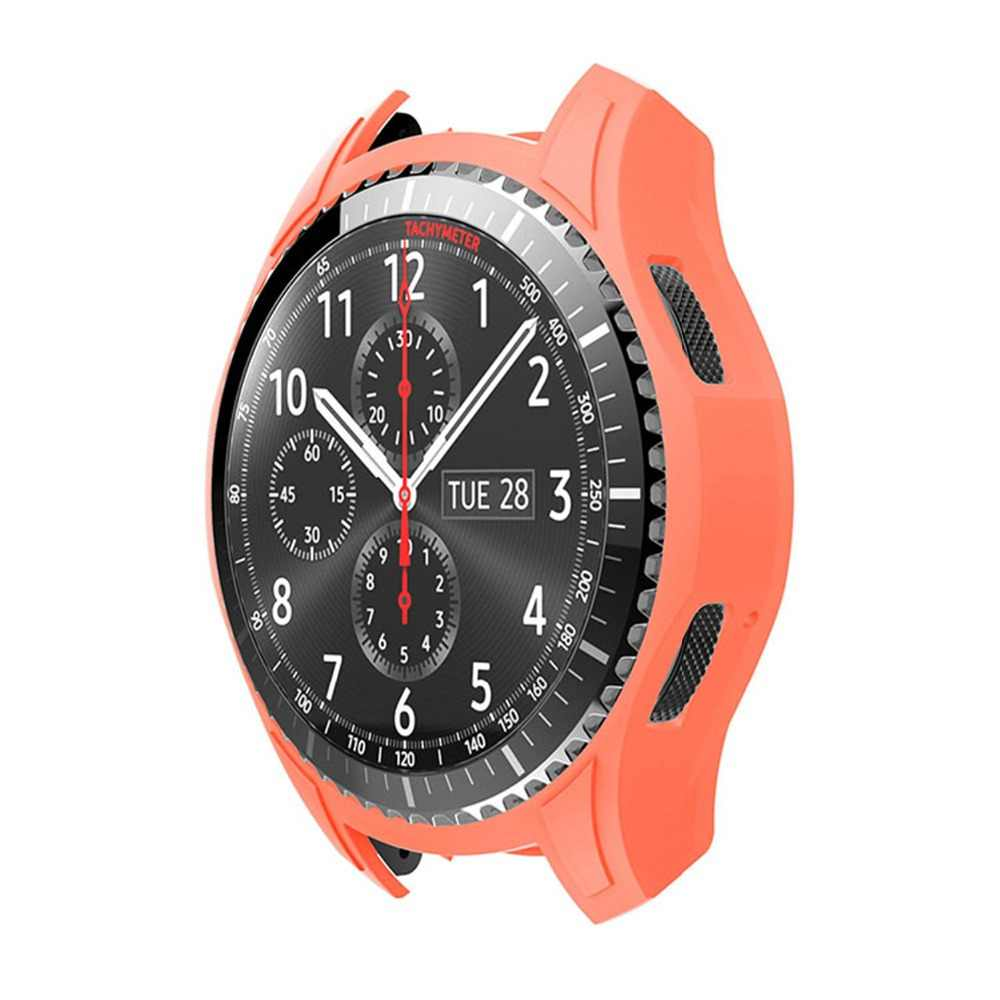 39ef0a35e7d ... Shock Proof Watch Shell for Samsung Galaxy Watch 46mm Silicone  Protective Cover for Samsung Gear S3