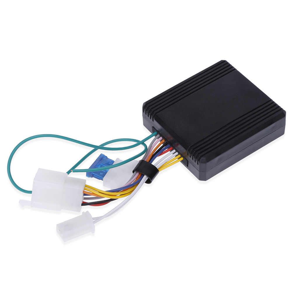 Tahan Air Sepeda Motor Alarm Kunci Remote MASUK TANPA Mulai Mesin Perlindungan Sepeda Moto Pencurian Motor Skuter Sistem Alarm untuk Kawasaki