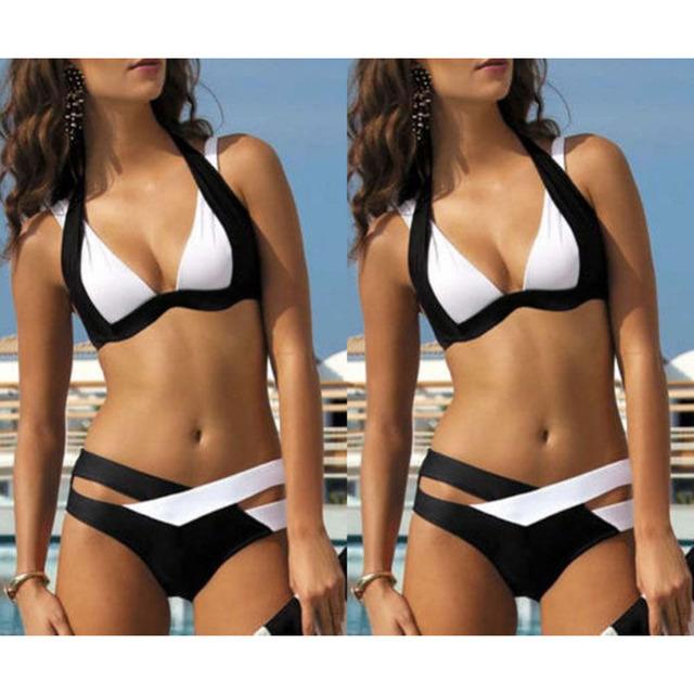Summer  Swimwear Women Bikinis Push Up Swimsuit Sexy  Beachwear Bikini Set