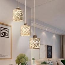1х Европейский стиль белый металлический Цветочный полый абажур Настольный модный Потолочный подвесной светильник, абажур для украшения дома столовой