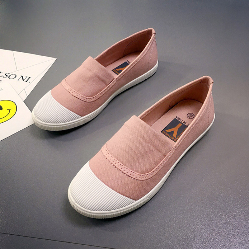 New women flats loafers canvas casual fashion shoes slip on fabric Fisherman Lazy soft summer girls female fashion lady shoes forudesigns musical note women sneakers flats fashion girls casual beach light loafers female summer slip on shoes woman walking