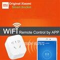 Новый Оригинальный Xiaomi Mi Smart Power Разъем, Wi-Fi Телефон MI Главная APP, Беспроводной Пульт Дистанционного Управления Zigbee, 2200 Вт 10А, 1 шт.