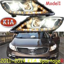 Reflektor KlA SportageR, 2011 ~ 2014, bezpłatny statek! SportageR lampa do jazdy dziennej, akcesoria samochodowe; sportage,sportage R