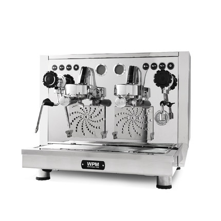 Welhome KD 510 Professional double head full semi automatic commercial Italian rotary pump boiler coffee machine