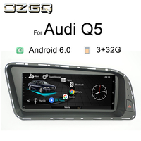 OZGQ Android 8.8 inch Car Radio Player Headunit Autoradio Stereo For 2010 2016 Audi Q5 Multimedia 3G MMI GPS Navigation With 4G