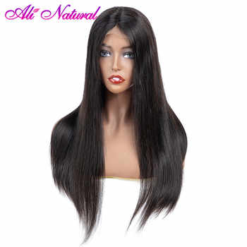 Alinatural 13x4 Front Wigs Brazilian Human Hair Straight 150% Density Glueless Lace Front Human Hair Wigs For Black Women - SALE ITEM Hair Extensions & Wigs