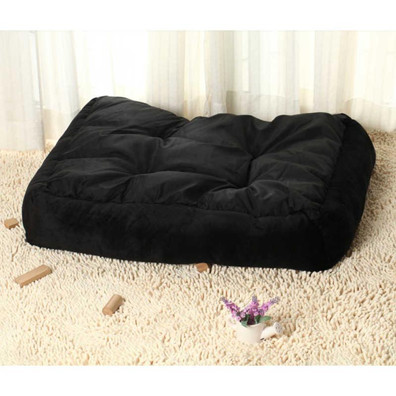 LAPLADOG ペット猫ビッグサイズ大型犬のベッドマット S-XL サイズ暖かいフリース子犬犬小屋ぬいぐるみコージーの巣犬小屋パッドペットハウス ZL380