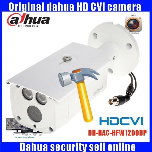 DAHUA HDCVI 1080P Bullet Camera 1/2.72MP waterproof IR 80M IP67 HAC-HFW1200DP security camera DH-HAC-HFW1200DP cvi camera full hd security camera hac hfw1220r vf ire6 2mp ir bullet cvi camera 1080p night version cvi camera built in sd