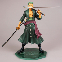 One Piece Zoro Action Figure painted figure 2 year later Roronoa Zoro Doll PVC ACGN figure Garage Kit Brinquedos Anime WX152