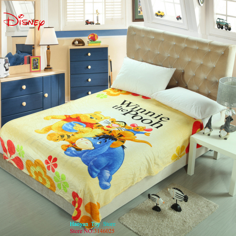 Disney Lilo Stitch Blanket Thin Soft Flannel Fabric 150*200cm Cartoon Bed Sofa Spreads Baby Plane Travel Cartoon Blanket Gifts new 3d printed fox super warm flannel fleece sherpa plush double face blanket for sofa bed travel soft throw blanket fox plaids