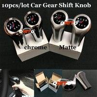 Wholesale 10Pcs Set For BMW Car Gear Shift Knob For E60 E90 F10 F30 F15 E63