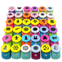 1lot=6pc!Color border /DIY craft flower punch/ big size embossing machine punch/children nice gift/36model for choice