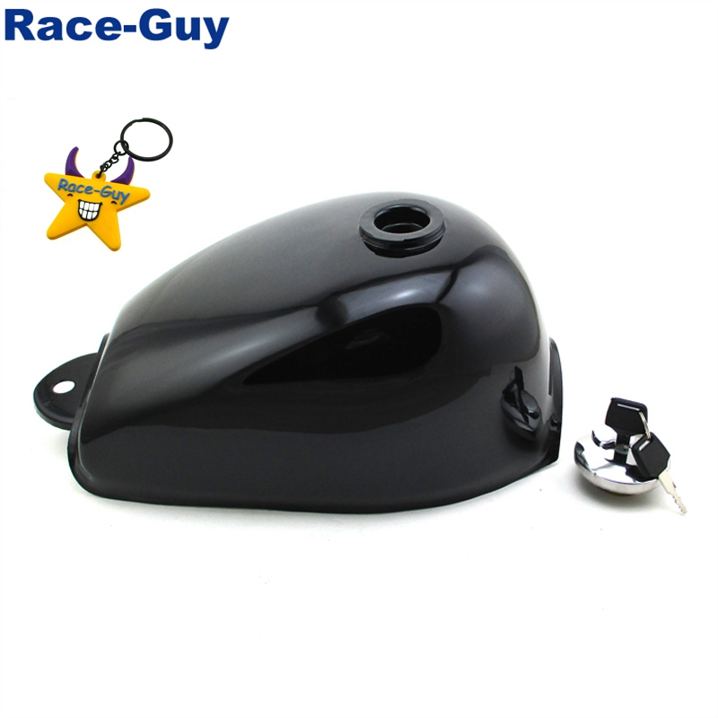 Black Fuel Gas Tank With Key For Honda Z50 Z50A Z50J Z50R Monkey Mini Trail Bike