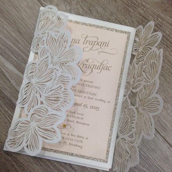 Floral Wedding Card Manufacturer From Hosur: Aliexpress.com : Buy CA0601 Laser Cut Floral Lace Wedding