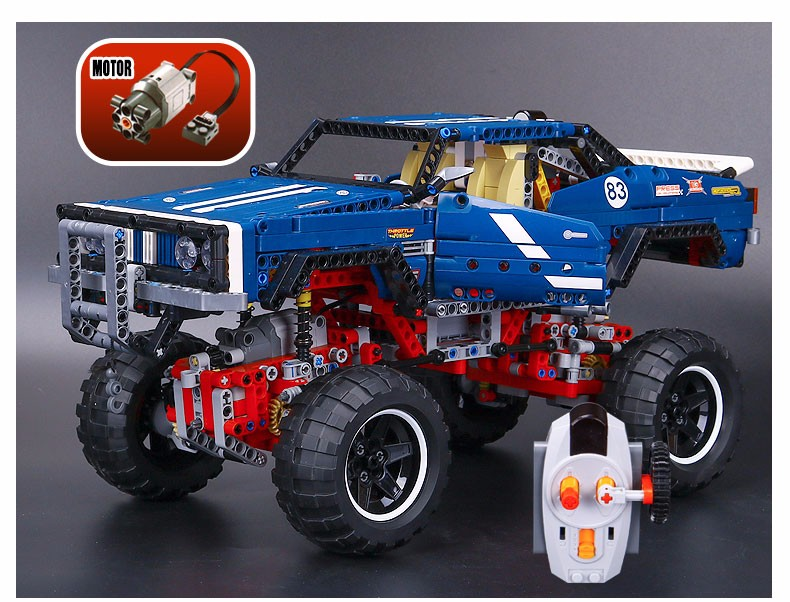 NEW lepin 20011 1605pcs technic remote control electric off-road vehicles building block toys compatible with lepin 41999