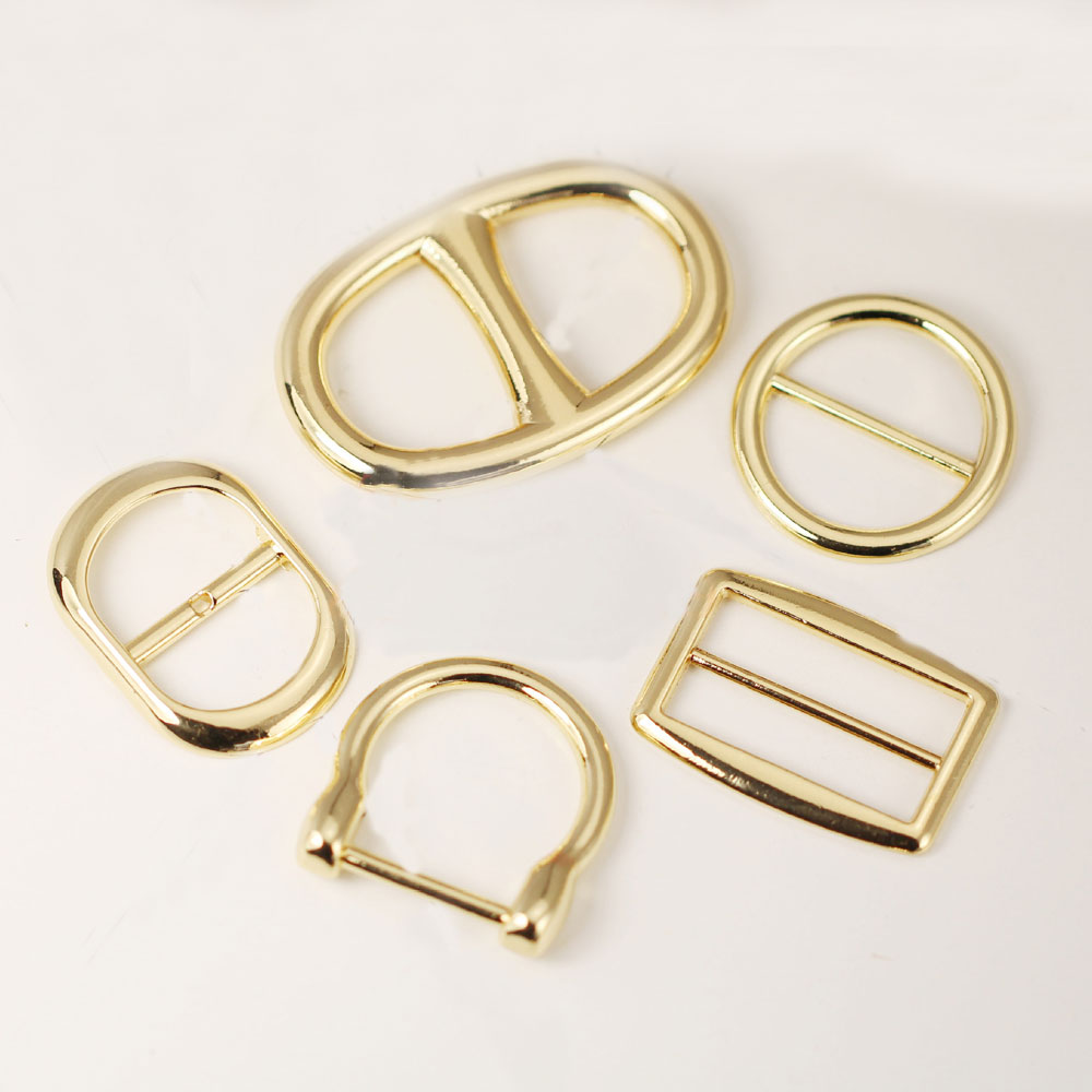10pcs Smooth Circle Metal Shoe Buckles Belt Buckles For Men/Women/Scarf Apparel Accessories Invitation Ribbon Wedding Decoration