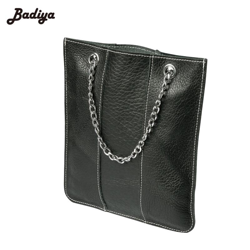 Genuine Leather New 2017 Women Chain Handbag Phone Bag Daily Totes Small Ladies Portable Exquisite Handbags Feminino Bolsas