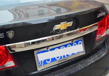 Edelstahl Kofferraum Deckel Abdeckung Trim Für Chevrolet Cruze 2009 2010 2011 2012 2013 2014 Limousine