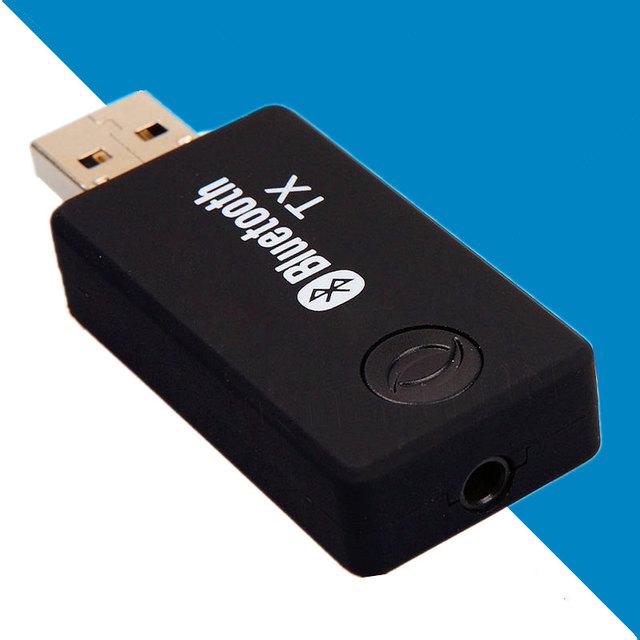NOVO Multi função Bluetooth TV Transmissor de Áudio Bluetooth Música Transmissor Adaptador de Áudio Do Computador 3.5mm forlaptop