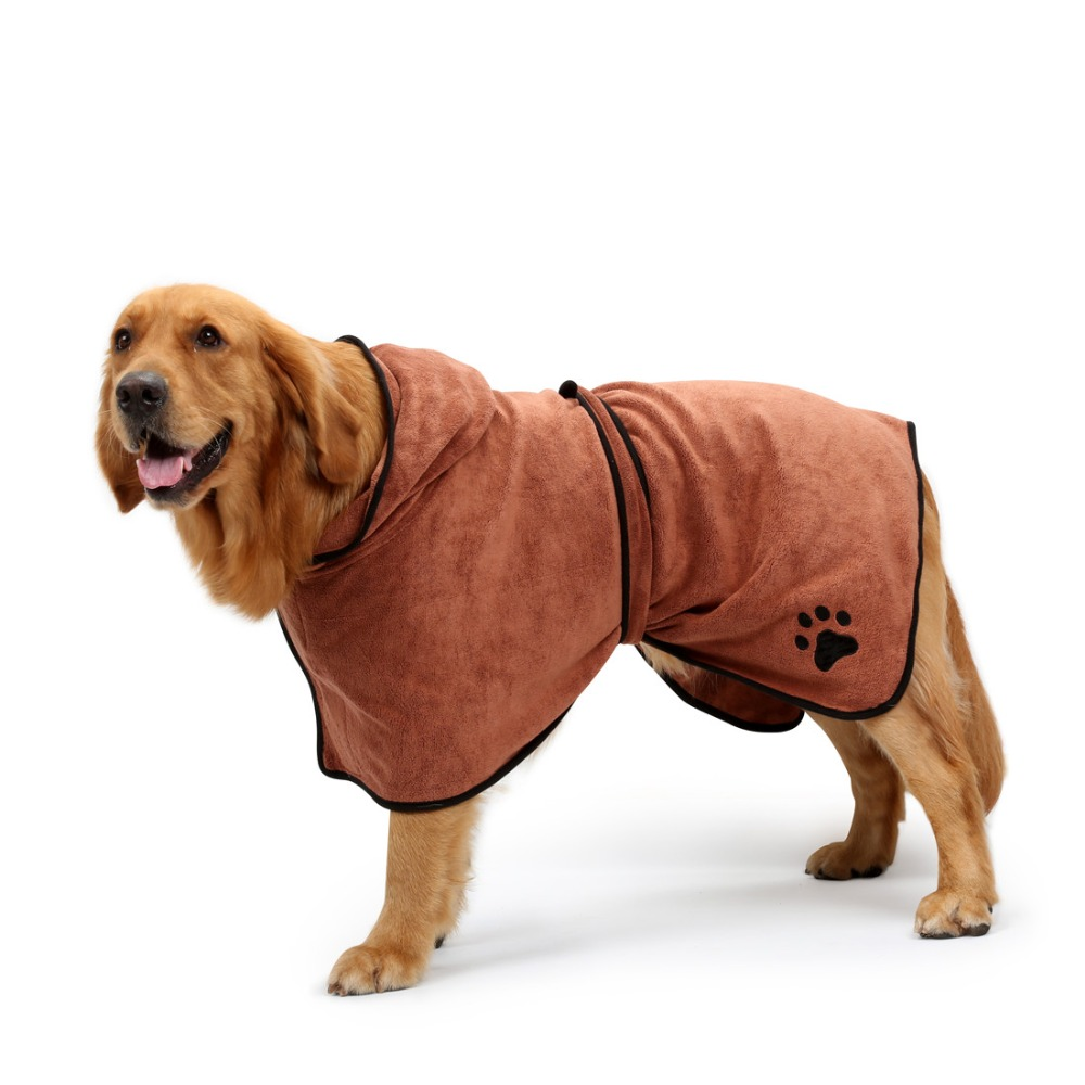 Dog Bathrobe (7)