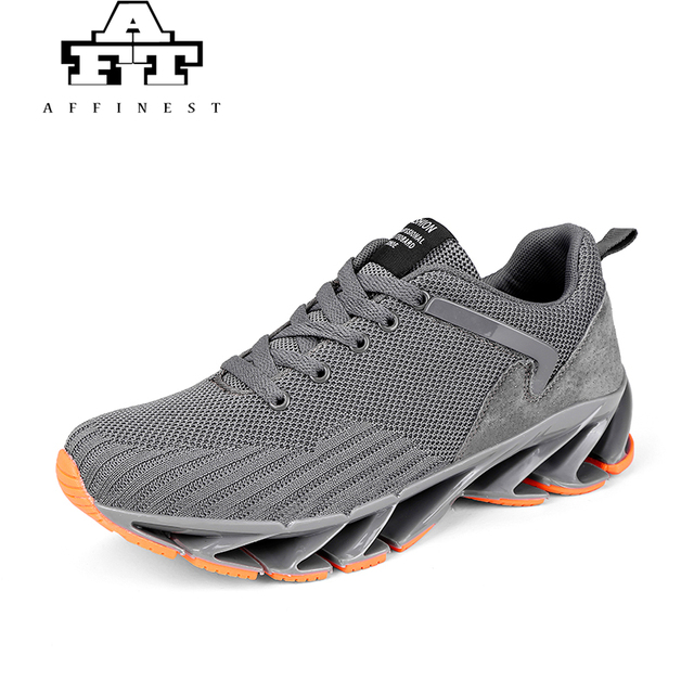 AFFINEST Super Fashion Casual Shoes For Men Breathable Spring Blade Camping Shoes  Men Sneakers Bounce Summer Outdoor Flats Shoes 292f5b97c8d9