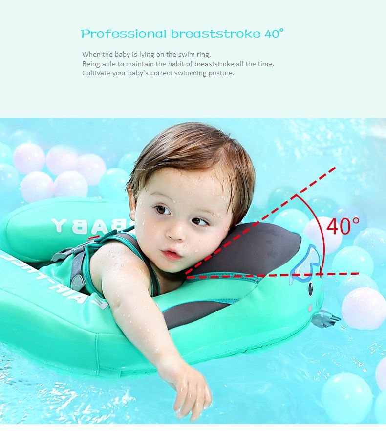 Baby Swimming Ring Solid No Inflatable Safety For accessories floating Floats Swimming Pool Toys (4)