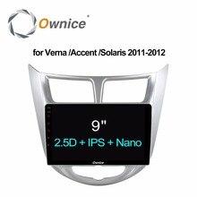 Ownice C500+ Android 6.0 Octa Core CAR Radio player for Hyundai Solaris accent Verna 2011 2012 navi GPS 2GB RAM 32GB ROM 4G LTE