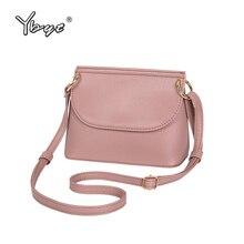 YBYT 브랜드 2018 새로운 고품질 부드러운 여성 셸 가방 캐주얼 단순한 여자 쇼핑 동전 지갑 어깨 메신저 크로스 바디 가방