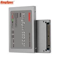 Kingspec 2.5 بوصة pata 44pin ide ssd 16 جيجابايت 32 جيجابايت 64 جيجابايت 128 جيجابايت 4c فلاش mlc محرك الحالة الصلبة القرص الصلب ide ل laptop desktop