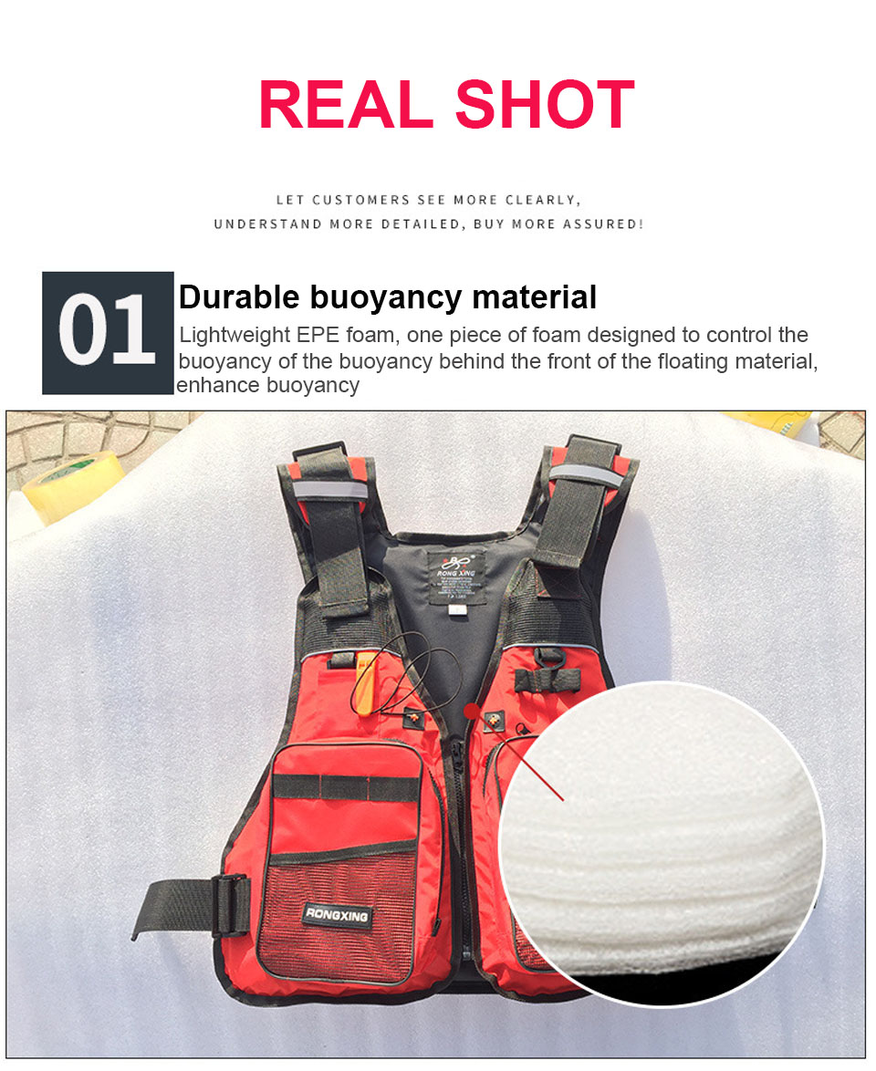 Automático inflable natación chaleco salvavidas pesca Unisex Top Chaleco de  rescate 15 kg flotabilidad kayak agua e38782b48c9c