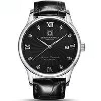 Suíça carnaval relógios masculino relógio mecânico automático masculino safira masculino marca de luxo relógio de pulso C1833-2