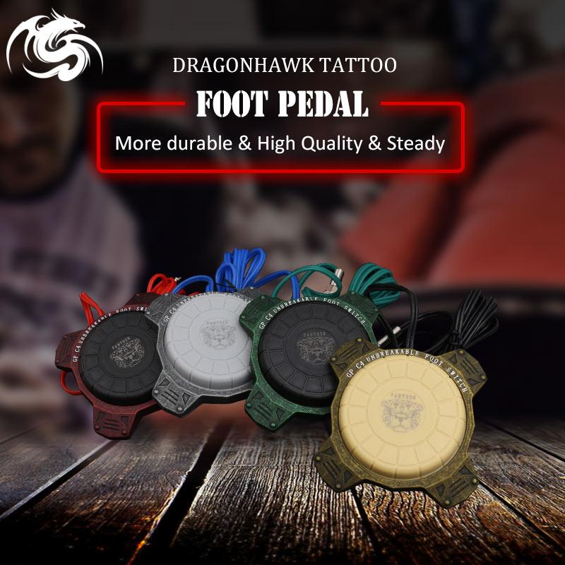 Бесплатная доставка Татуировка питания круглая татуировка машина Footswitch  ножной педали контроллер питания 6c3446eb9d68d