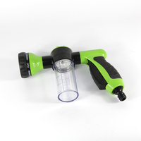 ABS Plastic Multifunction Portable Auto Home Foam Water Gun Car Washer Water Gun High Pressure