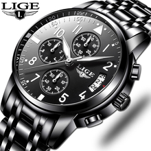 Relogio Masculino Mens Watches Waterproof Quartz Business