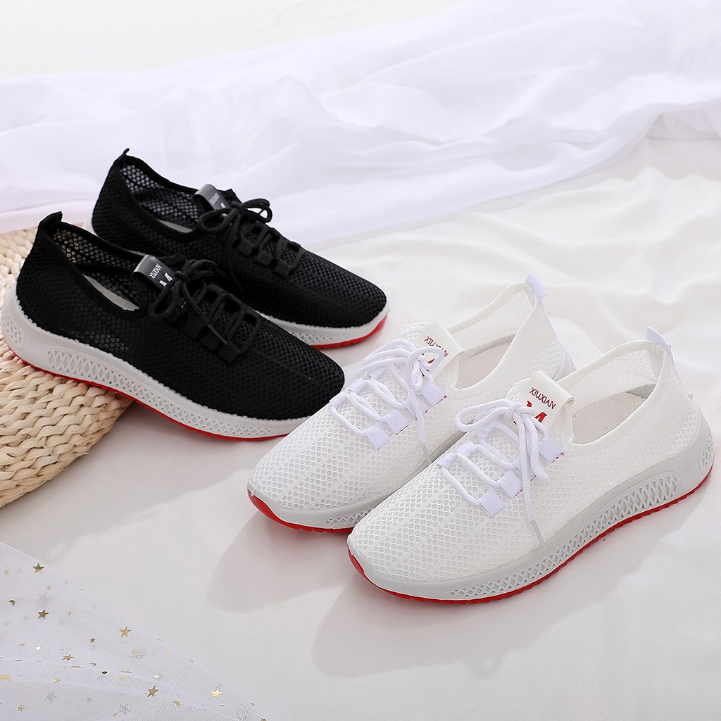 big size Tenis Feminino Women Light Soft Gym Female Sport Shoes Couple Tennis Shoe Stability Athletic Sneakers Trainers #D