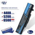 JIGU Новый 6-ячейный Аккумулятор для ноутбука LENOVO G580 Z380 Z380AM Y480 G480 V480 Y580 G580AM L11S6Y01 L11L6Y01
