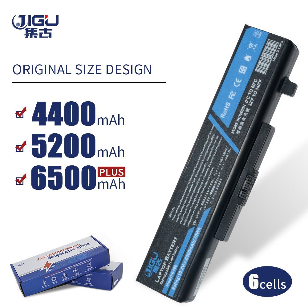 JIGU New 6 Cells Laptop Battery FOR LENOVO G580 Z380 Z380AM Y480 G480 V480 Y580 G580AM L11S6Y01 L11L6Y01