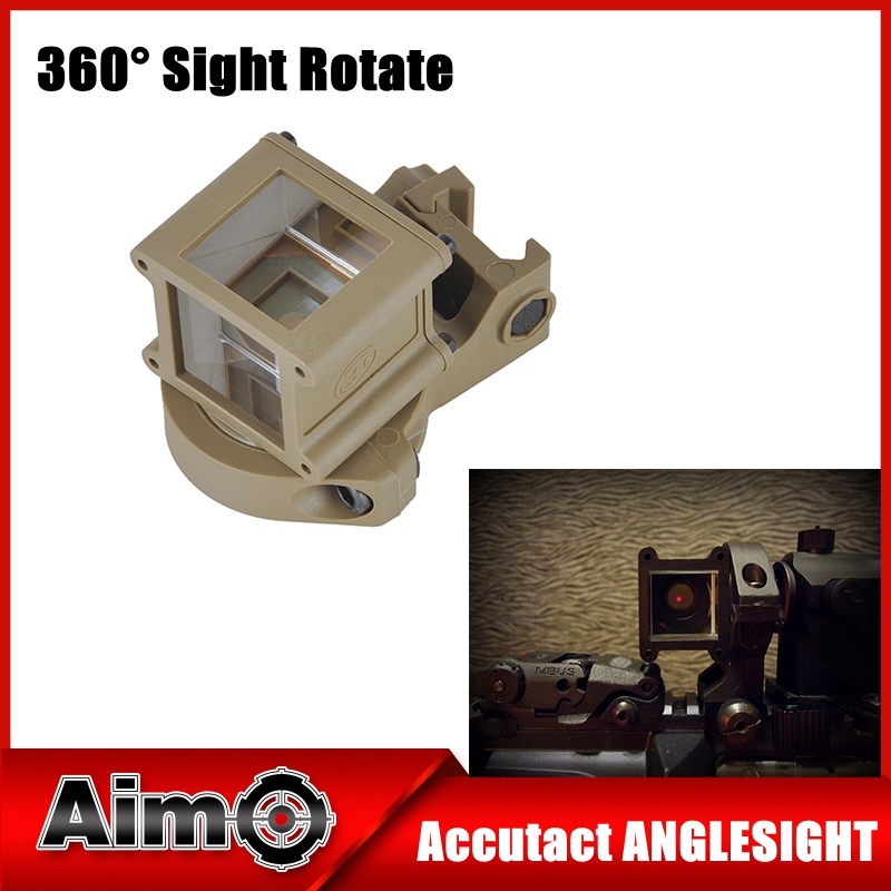 Element Accutact Anglisight With Standard Mount Rifle Scope Mount For Tactical Weapons Hunting Accessories EX 251 for Wargame