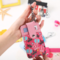 Fashion 2 Card Slot PU Leather Strap Buckle Business Case Wallets Brand ID Credit Card Holder Bank Package Purse Bags PY054